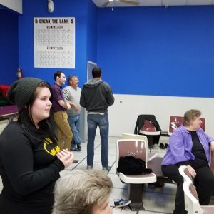 Feb. 2017 Bowling for Sandhills Food Bank