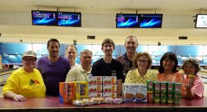 Bowling 4-13 for Food Bank